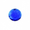Acrylic 16mm Round Facet Royal Blue